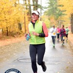Susie running the White Mountain Milers 5K in North Conway, New Hampshire