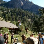 Trail Maintenance Volunteers gear up and prepare for a  sunshine day in Eldorado Canyon