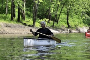 Canoeing on the Grand River in Northeaster Ohio