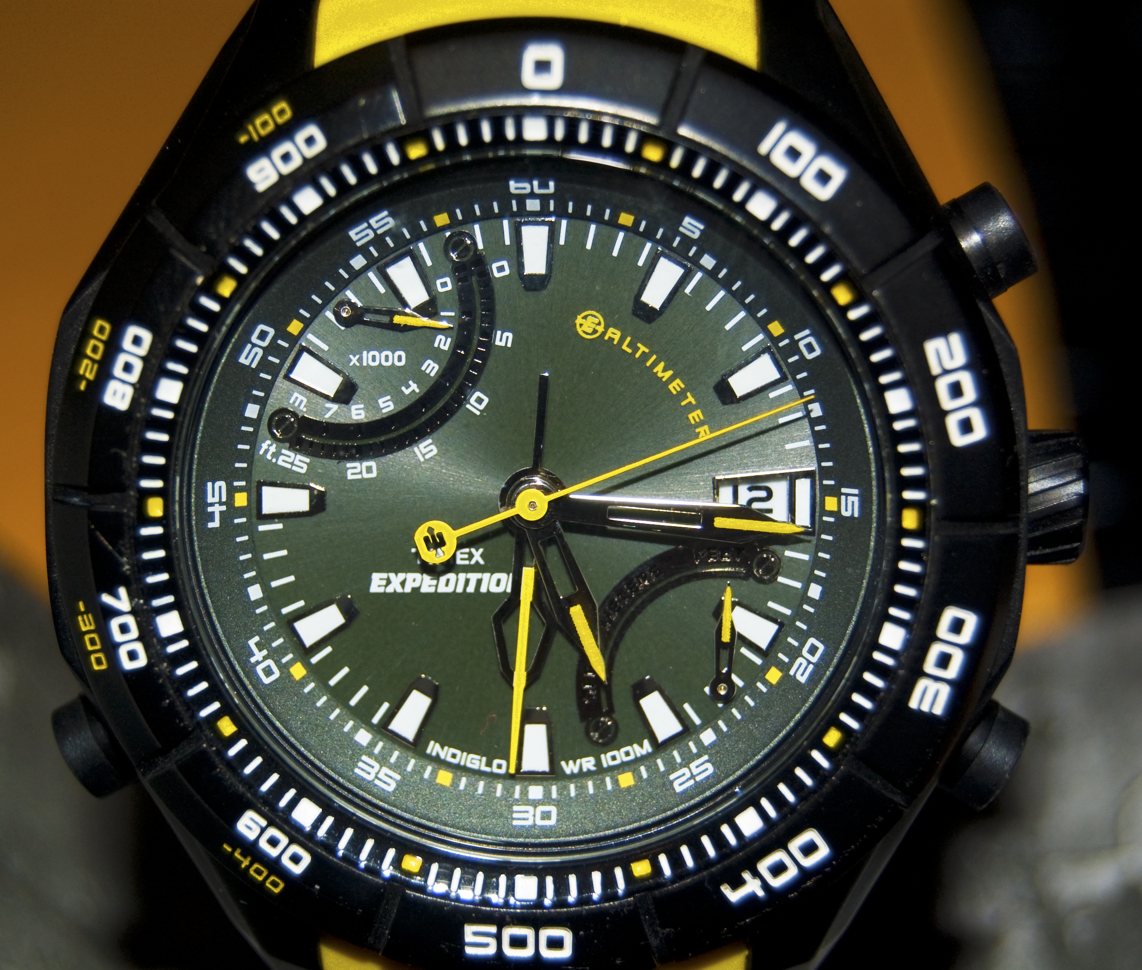 the altitude altimeter promaster horbiter en citizen watches titanium altichron