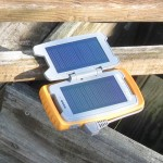 Solar chargeing the Restore