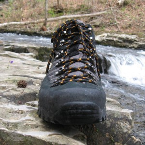 front view of Compass boot