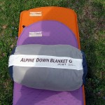 Ther-A-Rest Alpine blanket in storage bag