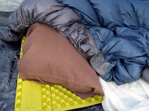 Alpine blanket with Therm-A-Rest Z light pad