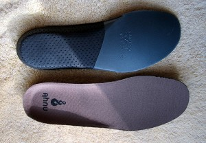 view of innersoles