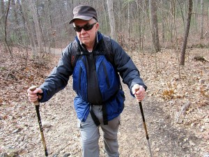 hiking in the Middlesex Fells