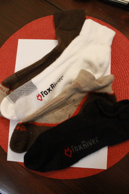 Fox River Trail and Triathlon Socks