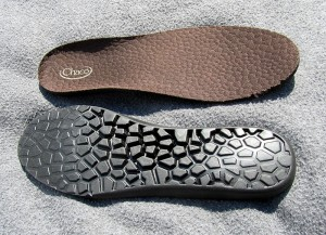 top and bottom view of removableinsoles
