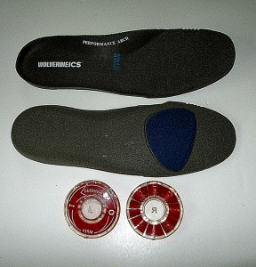 view of inner soles and Disc