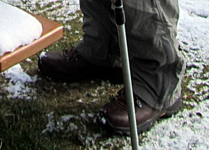 closeup of Fulcrum boots