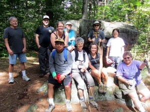 hikers in Middlesex east