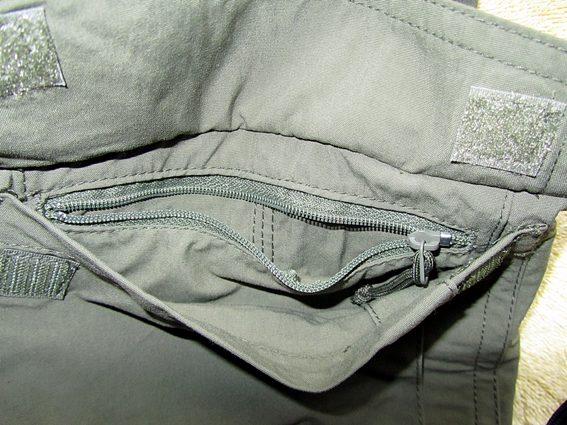 Mountain Khakis Granite Creek left bottom zippered pocket