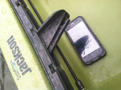 lifeproof fre case keeping my phone dry