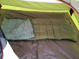 Kelty Discovery 4 Tent And 30 Sleeping Bag