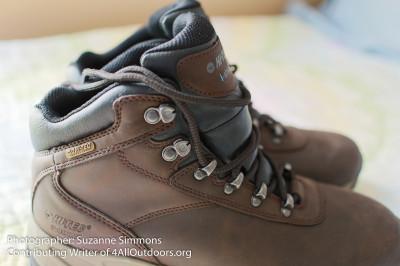 Hi-Tec Altitude V Waterproof for women laces side view