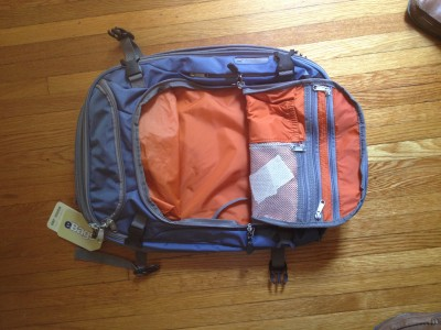 """eBags TLS Mother Lode Weekender IMG 2447 IMG 2448. Part of the name of this  bag """"Weekender Jr."""" leads me to believe that this bag is on the small 53d7cb6dd3be3"""