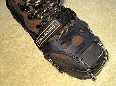 Hillsound Ultra Trail Crampon on Wolverine boot