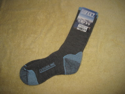 Cloudline Switchback Technical Hiker socks