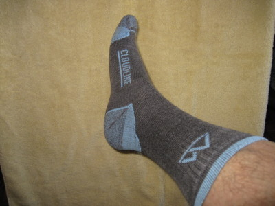 Trying Cloudline socks