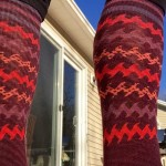 Detail of compression of the Smartwool Women's PhD® Run Light Elite Kneehigh Socks