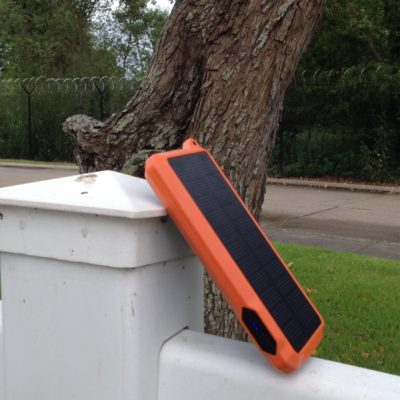 ToughTested Solar Powered Battery Pack