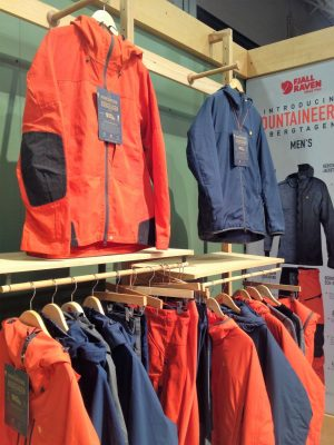 Fjallraven Mountaineering lineup
