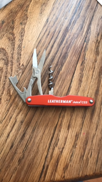 Open Leatherman Juice CS3