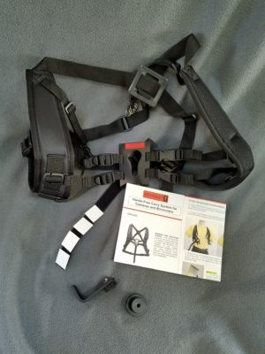 The KEYHOLE Hands-Free Carry System for Cameras and Binoculars by Backcountry Solutions
