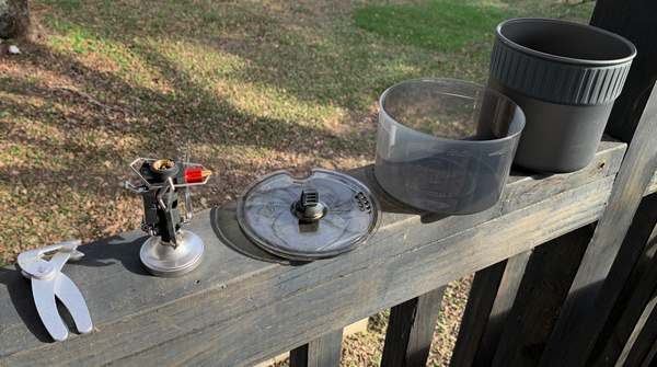 MSR Pocket Rocket Deluxe Stove Kit