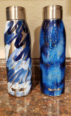 Tervis Stainless Water Bottles in Scribbles In Blue and Celestial